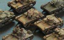 Tworzy modele polskich pojazdów wojskowych