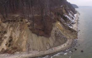 Osunął się klif w Orłowie. Nikt nie ucierpiał