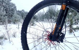 Zima nie zima, na rowerze kręcić trzeba