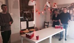 Zawody w piwnym ping-pongu