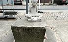Anonimowy artysta postawił kolejną rzeźbę w Gdyni