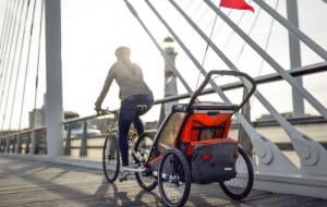 Przyczepki rowerowe do przewozu dzieci