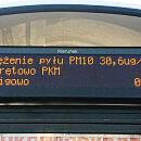 Dane o zanieczyszczeniu powietrza na tablicach Systemu Informacji Pasażerskiej
