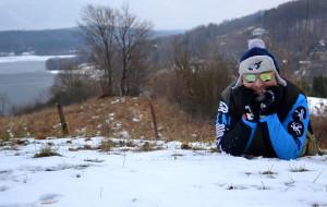 Zimowa wędrówka koroną Wzgórz Szymbarskich