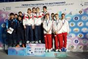 Floreciści UKS Atena Gdańsk brązowymi medalistami mistrzostw Europy kadetów
