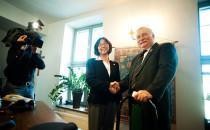 Wałęsa spotkał się z chińską opozycjonistką