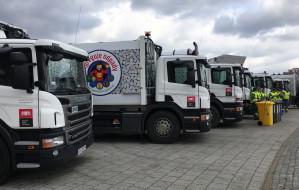 W Gdańsku zaprezentowano nowe śmieciarki