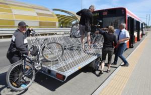 Autobus dla rowerzystów wraca do tunelu pod Martwą Wisłą