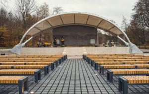 Pracowite lato w parku Oruńskim. Niepewna przyszłość gmachu Sceny Muzycznej GAK