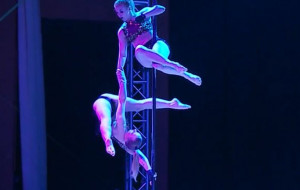 Zobacz pole dance, czyli taniec na rurze w wersji sportowej, teatralnej i erotycznej