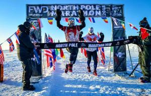 Gdańszczanka druga w maratonie na biegunie północnym. Joanna Mędraś chce zdobyć koronę Ziemi