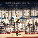 Udany występ młodych judoków w Pucharze Europy w Kownie