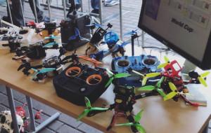 Na Stadionie Narodowym Rugby odbyły się wyścigi dronów