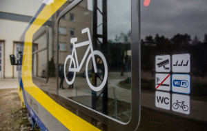 Od soboty płatny przewóz rowerów w pociągach PKM