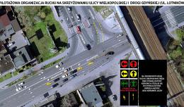 Gdynia: dwa sygnalizatory nad jednym pasem