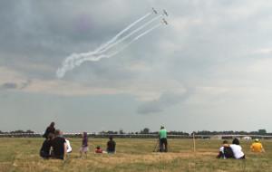 Widowiskowe pokazy lotnicze w Pruszczu Gdańskim