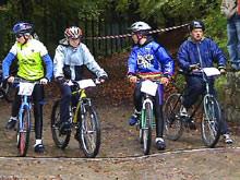 VI Wejherowski Wyścig Rowerów Górskich 17.10.2004