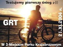 Trójmiejski PK po piasty w śniegu, edycja 1