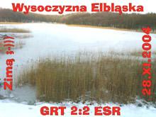 Wysoczyzna Elbląska i jej zimowe uroki, edycja 1