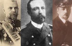 Wysocy oficerowie flot różnych państw