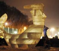 Zagrożone festiwale wielkich rzeźb w Trójmieście