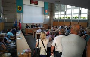 Burzliwe spotkanie o pyle węglowym w centrum Gdyni