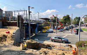 Gdynia: Kładka pieszo-rowerowa zamontowana