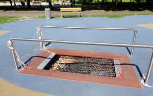 Straż uszkodziła trampolinę. Naprawa dopiero za rok?