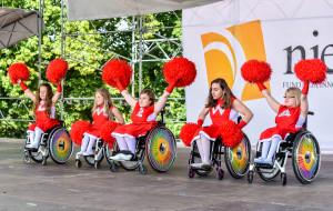 Cheerleaderki na wózkach wystąpią w mistrzostwach świata
