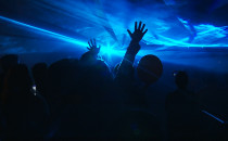 Reggae i lasery na koniec Jarmarku św....