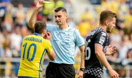 Piłkarze Arki Gdynia mają pretensje do sędziego meczu z Zagłębiem Sosnowiec