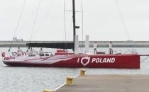 """Jacht regatowy """"I love Poland""""..."""