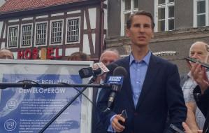 Płażyński krytykuje zamianę kamienic, Adamowicz zorganizuje przetarg