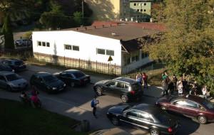 Zatory po zmianach w ruchu na Grabówku