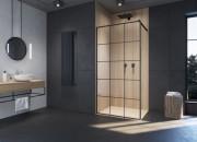 Czarne kabiny prysznicowe coraz bardziej popularne