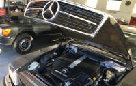 Klasyki Mercedesa z nowoczesnymi silnikami AMG i Brabusa