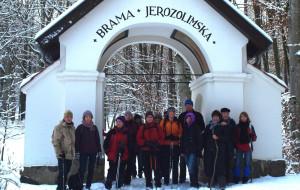 Zimowy spacer po Kalwarii Wejherowskiej