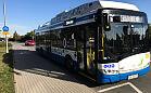 Pierwszy dzień kursowania trolejbusu do Ergo Areny