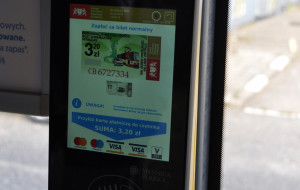 Od dziś biletomaty w autobusach na lotnisko