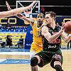 Koszykarze Arki Gdynia nieznacznie gorsi od Lokomotiwu Kubań Krasnodar
