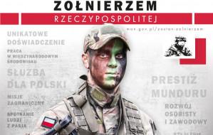 Wojsko rekrutuje w centrum handlowym i na dworcu