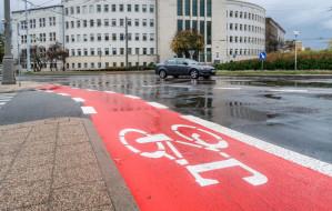 Przybyło pasów dla rowerzystów w Gdyni
