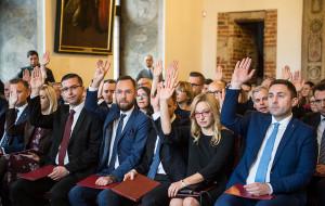Pierwsza sesja Rady Miasta Gdańska