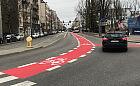 Gdynia: pasy dla rowerzystów przy Urzędzie Miasta