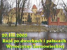 Pałace i dworki Wysoczyzny Żarnowieckiej
