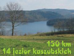 Dookoła 14 jezior kaszubskich