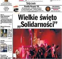 """Wielkie święto """"Solidarności"""""""