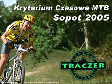 Kryterium Czasowe MTB; Sopot; 2005; 27.08.2005