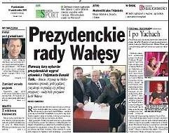 Wałęsa radzi Tuskowi