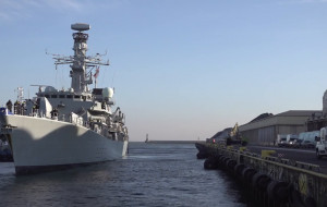 Zwiedź okręt brytyjskiej Royal Navy
